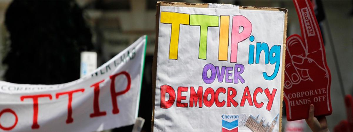 Auf dem Weg zur transatlantischen Wirtschaftsgemeinschaft mit TTIP?